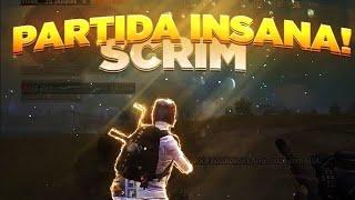 PUBG MOBILE - Scrim em 3 insana 🌝 | p3dr0gg / myth / paralyze