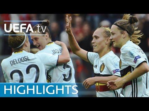 Highlights: Norway v Belgium