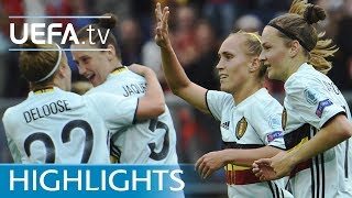 Women's EURO highlights: Norway 0-2 Belgium