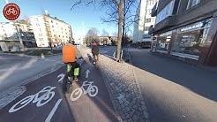 Helsinki bicycle ride