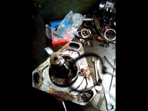 Bomba Perkins 6 cilindros contaminación de aceite al diésel