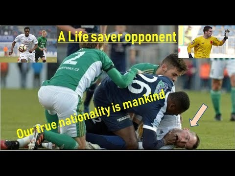 Life saver opponent / Francis Koné saved opponent from death./ football and mankind. Mp3
