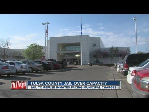 Tulsa County jail overcrowded