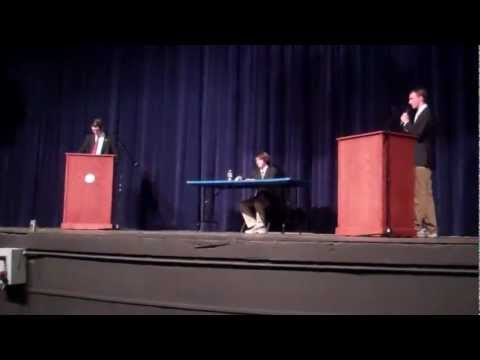 Hall High School Political Debate