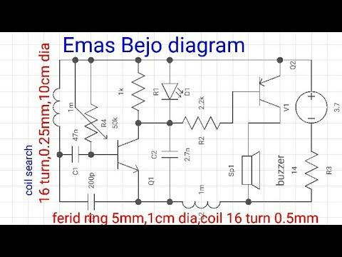 Simple & sensitif metal detector
