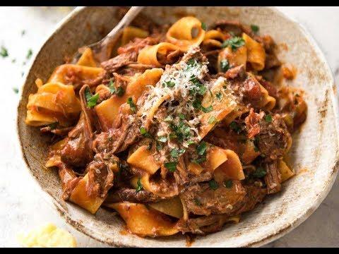 Beef pasta sauce slow cooker