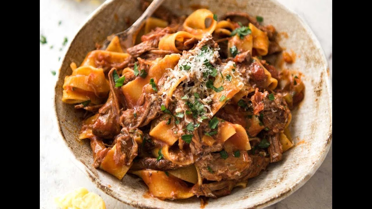 Watch Pappardelle with Beef Ragu video