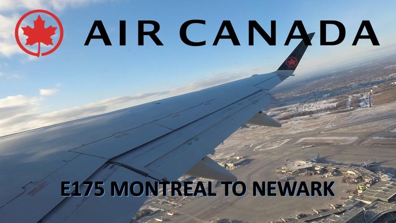 Air Canada Express E175: Montreal to Newark