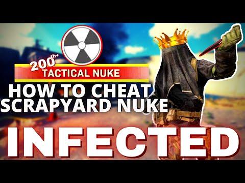 how to CHEAT SCRAPYARD NUKE + BASICALLY FREE BRIDGE NUKE (infected)   Call of Duty Modern Warfare