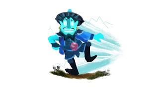 Storm Spirit - Ilustración en Photoshop (Dota 2)