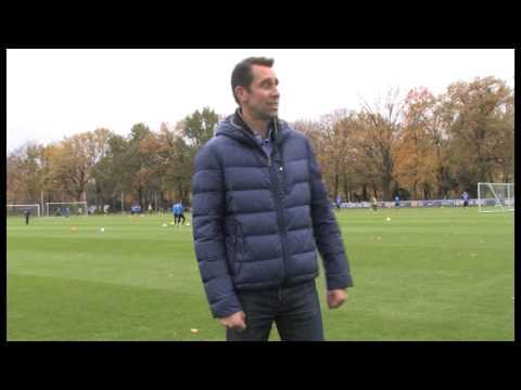 Yes we cam, Sporthallen-Initiative-Babelsberg: Michael Preetz, Hertha BSC