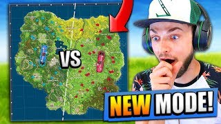 *NEW* 50 vs 50 BIGGEST MODE EVER in Fortnite: Battle Royale! (V2)