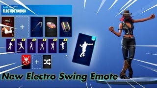 [Fortnite] New Leaked Electro Swing Emote!!