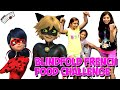 Miraculous Ladybug BLINDFOLD FOOD CHALLENGE French Pastry | KidToyTesters