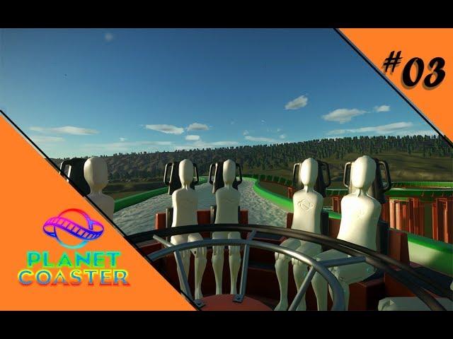 IN WILDEN WASSERN 🎢 Let's Play Planet Coaster #03