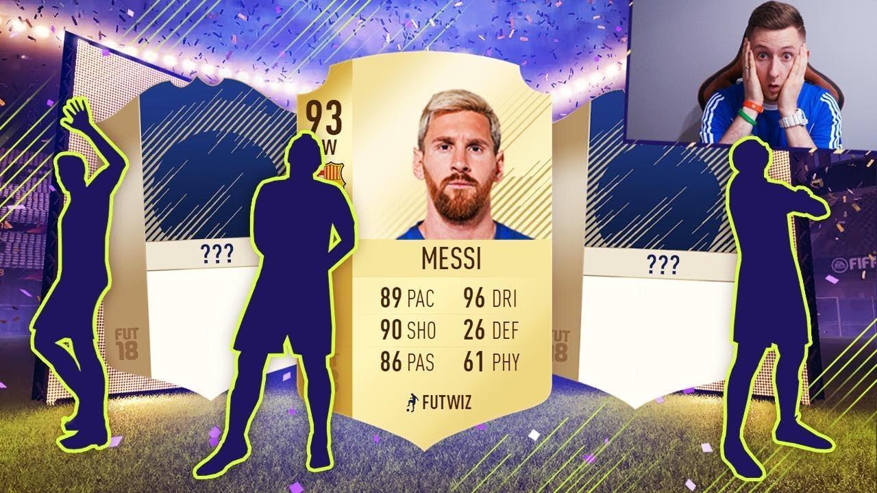 FIFA 18 – MESSI + DWIE IKONY TRAFIONE!