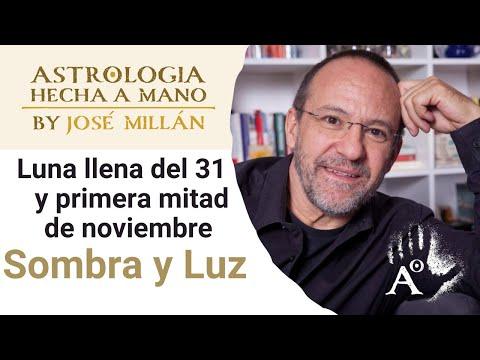 Sombra y Luz. La astrología del final de octubre y noviembre 2020. La Luna llena del 31 de Octubre.
