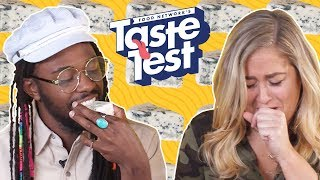 Tasting SMELLY Foods 👃 TASTE TEST!