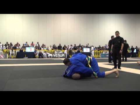 Leonardo Nogueira X Mahamed Silva - Atlanta BJJ Pro 2016 - Black - Adult - Male - Ultra Heavy