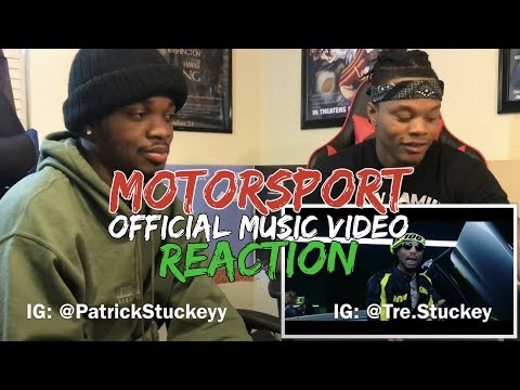 Migos, Nicki Minaj, Cardi B - MotorSport - REACTION