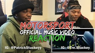 Migos, Nicki Minaj, Cardi B - MotorSport - REACTION