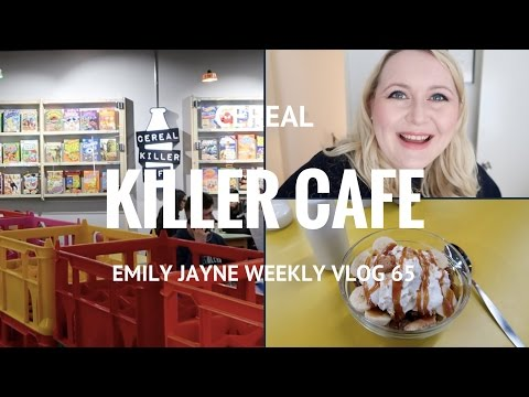 CEREAL KILLER CAFE BIRMINGHAM { Emily Jayne Weekly Vlog 65 }