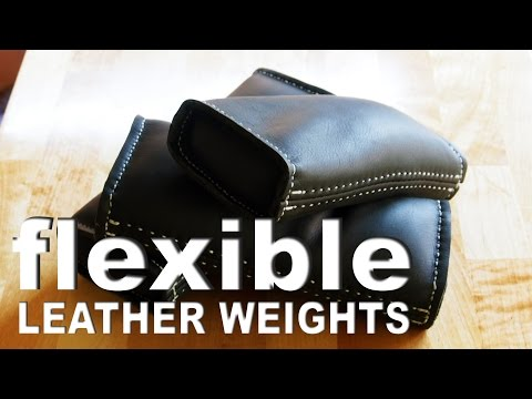 Flexible Leather Weights | Soft leather shot bags for the shop