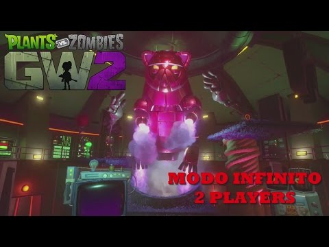 Plantas VS Zombis: Garden Warfare 2 -Modo Infinito Big Cat Cooperativo- En Español  1080p