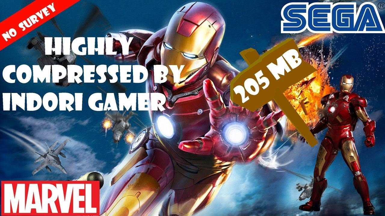 how to download iron man game in pc 200 mb! highly compressed