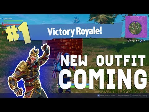 NEW OUTFIT COMING TO FORTNITE TODAY!?
