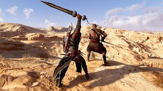 Assassin's Creed Origins - Nightmare Warrior Deadly Combat & Stronghold Clearings