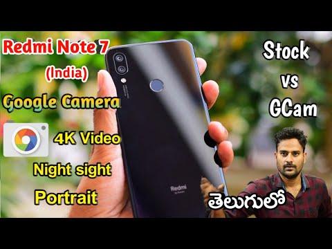 Redmi Note 7 4k Video Samples With Google Camera App | Same 4k Video
