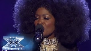 "Lillie McCloud Soaks Up The ""Love"" - THE X FACTOR USA 2013"
