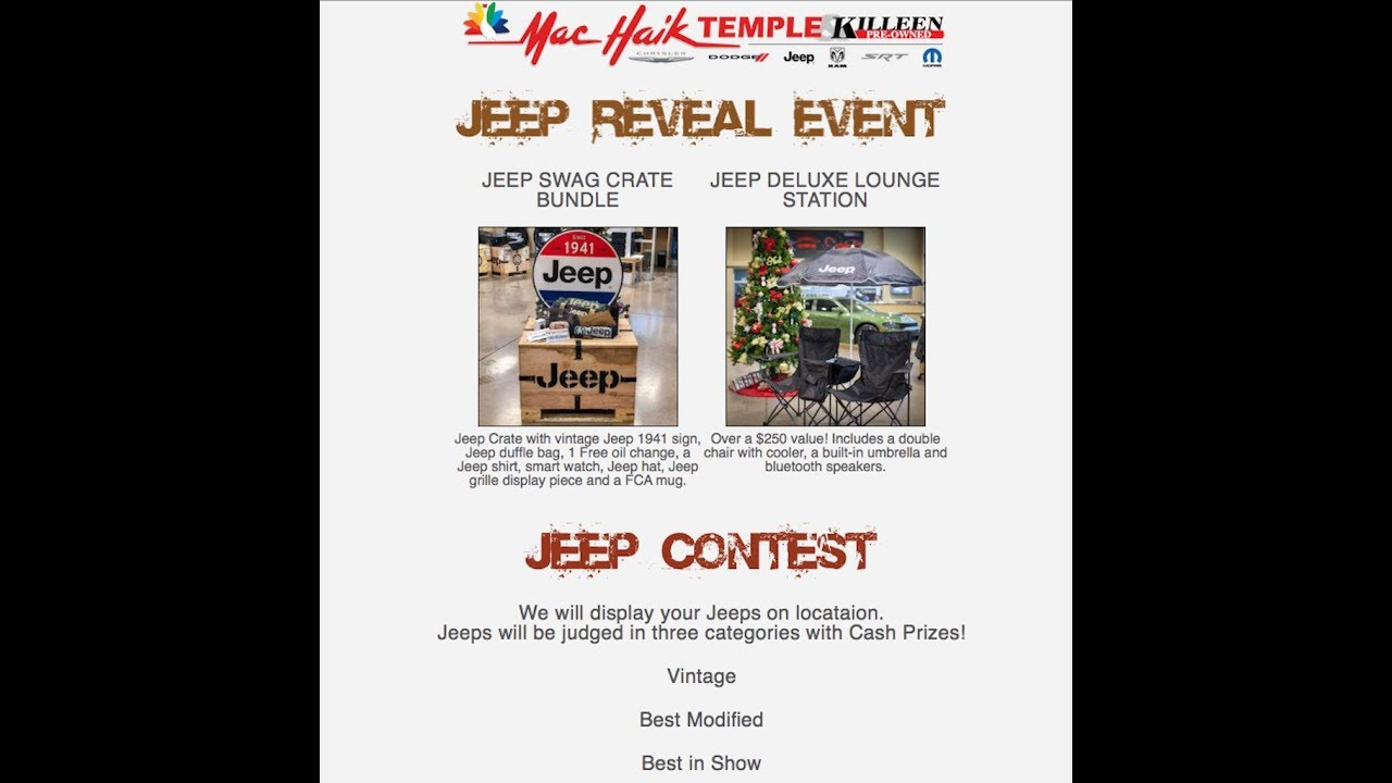 Jeep Wrangler Jl Reveal Meet And Greet Jeep Contest Fc S2e3