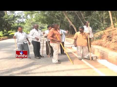 Tigers and Monkeys Nuisance in Tirumala at Walkway | Balaji Nagar | TTD | HMTV