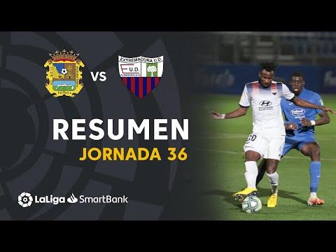 CF Fuenlabrada Extremadura UD Goals And Highlights