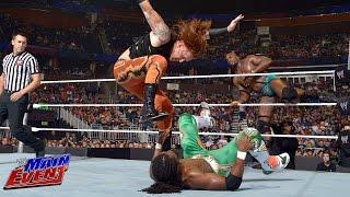 Big E & Kofi Kingston vs. Heath Slater & Titus O