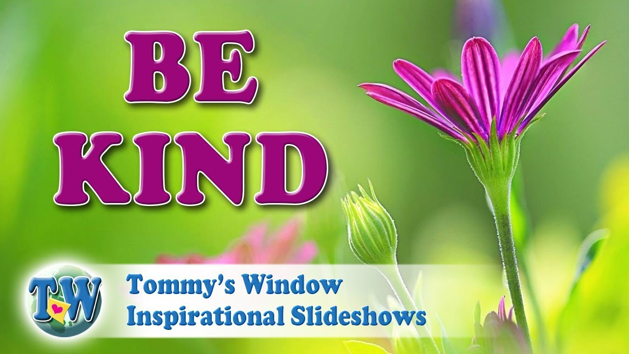 5afd7e3dca45 Be Kind - Tommy s Window Inspirational Slideshow - YouTube