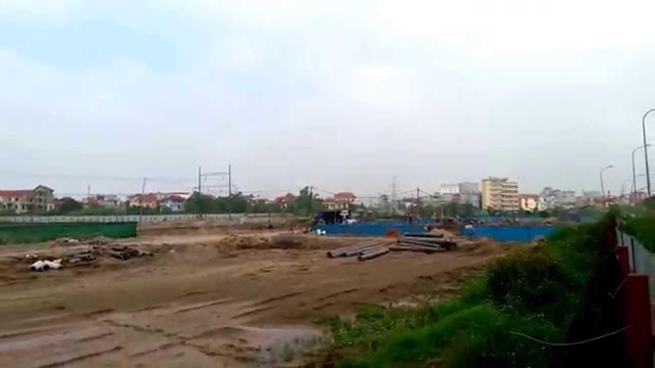 Tiến độ Dự án Xuân Phương Tasco – Tuần 1.T12.2015
