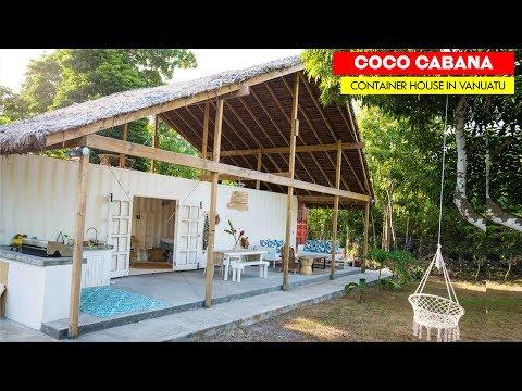 Coco Cabana Funky Container House in Port Vila, Vanuatu