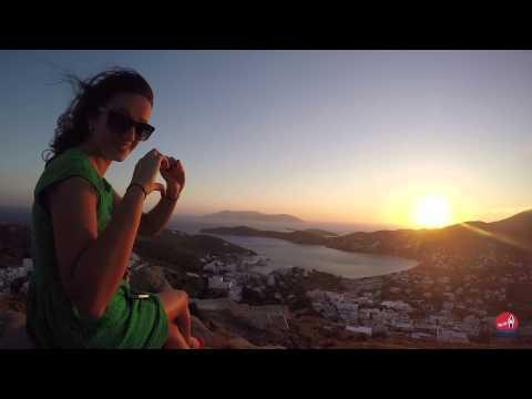 Sunset on Ios - Greece: #LifeOniOS