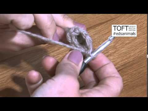 Working the RS to manage small stitch crochet rounds | Edward's Menagerie by Kerry Lord | TOFT