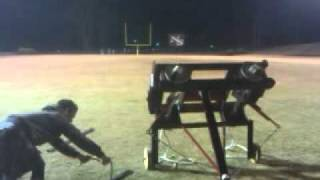 Ninety Six High School Catapult Competition Record Breaking Shot