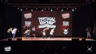 NMF FAM // MEGACREW Silver Medalists @ Portugal Hip Hop Dance Championship 2019