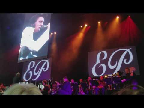 Elvis  40th Anniversary intro and Burning Love @ Rose Music Center  2017