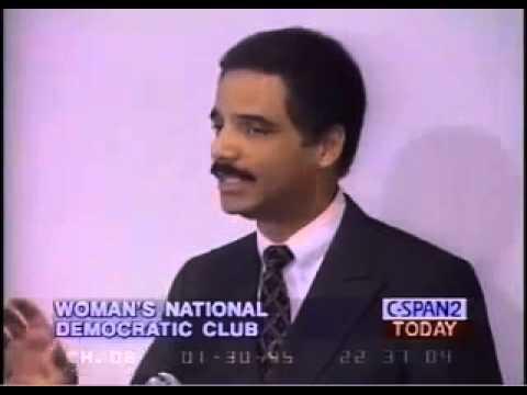 Eric Holder 1995 Interview - Gun Control - We Must Brainwash People Against Guns