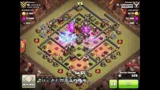 Clash of clans 3 stars 4lavaloon Vallcheto