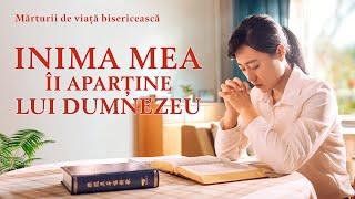 """Video de mărturie creștină """"Inima mea-I aparține lui Dumnezeu"""" Adevărata experiență a unui creștin"""