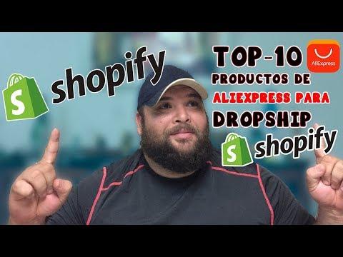 SHOPIFY: LOS TOP 10 PRODUCTOS DE ALIEXPRESS PARA VENDER (2018)