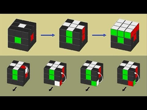 Belajar- Rubik's Cube Step 1/6- Tutorial Pemula (Blender Animation)